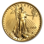 1992 1/10 oz Gold American Eagle - Brilliant Uncirculated