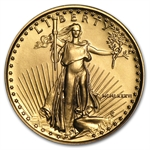 1986 MCMLXXXVI 1/4 oz Gold American Eagle Brilliant Uncirculated