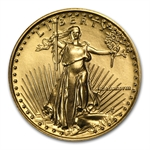 1988 MCMLXXXVIII 1/4oz Gold American Eagle Brilliant Uncirculated