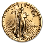 1989 MCMLXXXIX 1/4 oz Gold American Eagle Brilliant Uncirculated