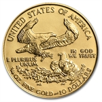 1991 MCMXCI 1/4 oz Gold American Eagle Brilliant Uncirculated
