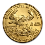 1992 1/4 oz Gold American Eagle - Brilliant Uncirculated