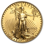 1993 1/4 oz Gold American Eagle - Brilliant Uncirculated