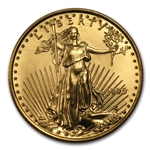 1995 1/4 oz Gold American Eagle - Brilliant Uncirculated