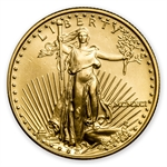 1991 MCMXCI 1/2 oz Gold American Eagle Brilliant Uncirculated