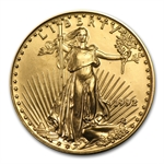 1992 1/2 oz Gold American Eagle - Brilliant Uncirculated