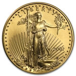 2001 1/2 oz Gold American Eagle - Brilliant Uncirculated