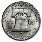 1948-D Franklin Half Dollar Roll (20ct) - Brilliant Uncirculated