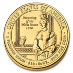 2008-W 1/2 oz Uncirculated Gold Elizabeth Monroe (w/Box & CoA)