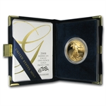 2008-W 1 oz Proof Gold American Eagle (w/Box & CoA)