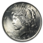 1923 Peace Dollar MS-65 NGC
