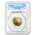 1996-W 1/4 oz Proof Gold American Eagle PR-70 PCGS