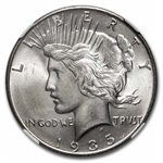 1935 Peace Dollar MS-64 NGC