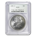 1885-O Morgan Dollar - MS-65 PCGS