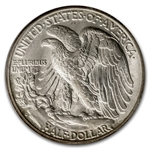 1940-1947 Walking Liberty Half Dollars MS-65 PCGS