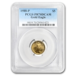 1988-P 1/10 oz Proof Gold American Eagle PR-70 PCGS