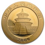 2009 (1/2 oz) Gold Chinese Panda - (Sealed)