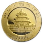 2009 (1/10 oz) Gold Chinese Panda - (Sealed)