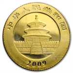 2009 (1/20 oz) Gold Chinese Pandas - (Sealed)