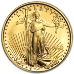1996 1/10 oz Gold American Eagle - Brilliant Uncirculated