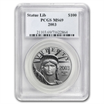 2003 1 oz Platinum American Eagle MS-69 PCGS