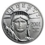 2001 1 oz Platinum American Eagle - Brilliant Uncirculated