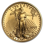2002 1/10 oz Gold American Eagle - Brilliant Uncirculated