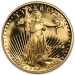 1994-W 1/10 oz Proof Gold American Eagle (w/Box & CoA)