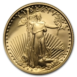 1996-W 1/10 oz Proof Gold American Eagle (w/Box & CoA)