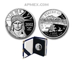 2002-W 1/2 oz Proof Platinum American Eagle (w/Box & CoA)