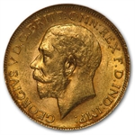 Canada 1911-C Sovereign Gold George V NGC MS-62