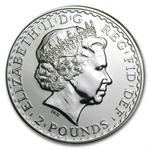 2009 1 oz Silver Britannia (Brilliant Uncirculated)