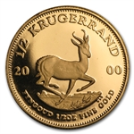 2000 1/2 oz Proof Gold South African Krugerrand