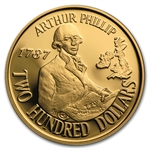 Australia 1987 $200 Gold Coin (Proof or BU) AGW .2948