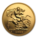 Great Britain Gold 5 Pounds BU (Random Dates)