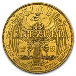 Venezuela 20 Gramos De Oro Puro Gold - Decapitated Design