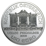 2009 1 oz Silver Austrian Philharmonic - Brilliant Uncirculated