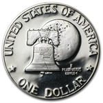 1976-S Eisenhower Dollar (Type-2) Gem Proof - Clad