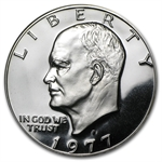 1977-S Eisenhower Dollar Gem Proof - Clad