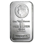 1 oz New Morgan Design Silver Bar .999 Fine