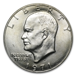 1971-D Eisenhower Dollar - Brillant Uncirculated