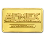 5 gram APMEX Gold Bar .9999 Fine