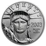 2003 1 oz Platinum American Eagle - Brilliant Uncirculated