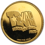1 oz Gold Round (Secondary Market) .999+ Fine