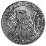 2007-W 1/2 oz Burnished Platinum American Eagle (Capsule Only)