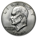 1973-D Eisenhower Dollar - Brilliant Uncirculated