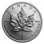 2009 1 oz Canadian Platinum Maple Leaf