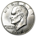 1974 Eisenhower Dollar - Brilliant Uncirculated