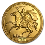 Isle of Man 5 Pounds Gold BU Viking Random Dates