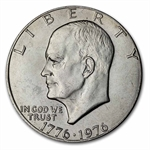 1976 Eisenhower Dollar - Brilliant Uncirculated - Type-1